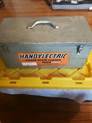 Handylectric Snakentainer Power Drain Cleaner With Cutters And Case Made In Usa