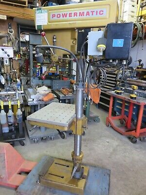Powermatic 1150 Drill Press W Speed Reductionproduction Table Morse 2 Clausing