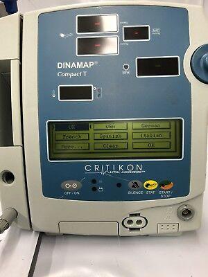 Critikon Dinamap Compact T Monitor Ref 117209
