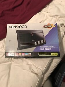 Kenwood 5 channel amp for sale