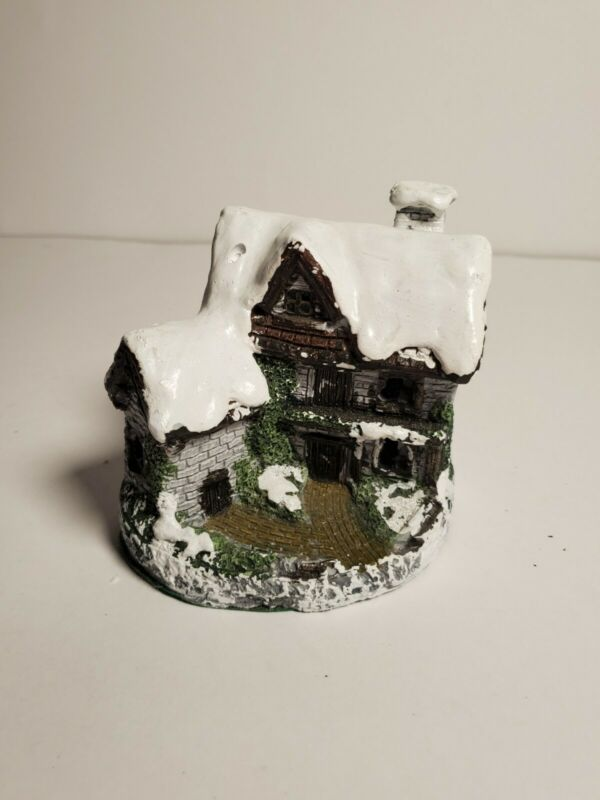 Lighted Cottage Charmers Snow House Christmas Village