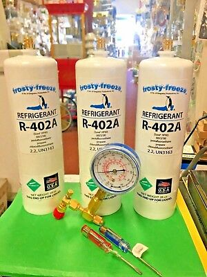 R402a Hp80 Refrigerant R402a Hcfc Thermo King 3 28 Oz. Gauge Tool Set