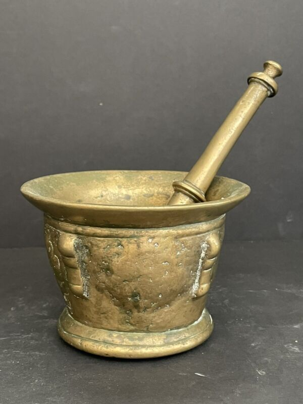 17th Century Mortar And Pestle