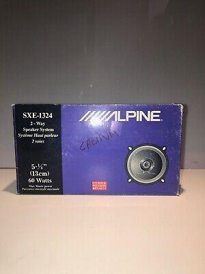 Alpine SXE- 1324 Altavoz para Coche Coaxiales de 2 Vías