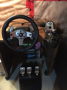 Logitech G25 racing wheel!