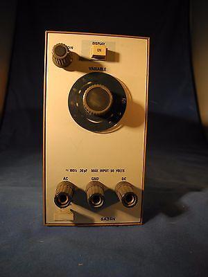 Tektronix 5a24n 2 Mhz Amplifier Plug-in