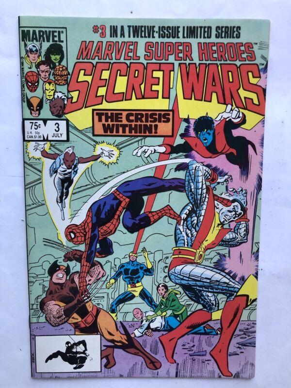 Marvel Super Heroes Secret Wars 3 1st Appearance Of Titania She-Hulk Show Nice!