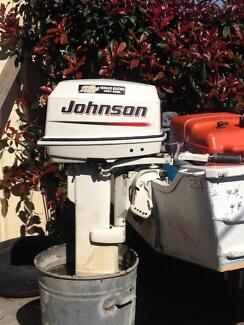 Johnson 30hp outboard Beresfield Newcastle Area Preview