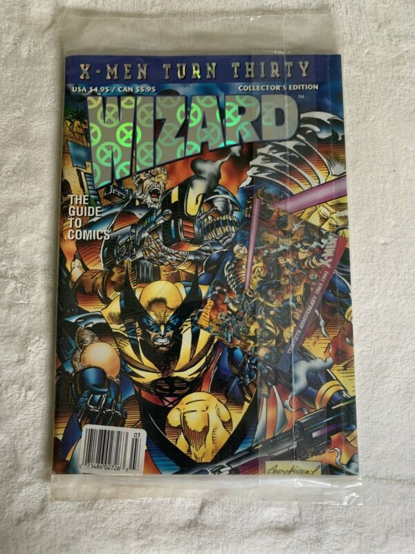 WIZARD X-MEN TURN THIRTY SEALED COLLECTOR