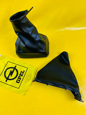 New Set Gear Lever - And Hand Brake Lever Cuff Vauxhall Calibra + Vectra A