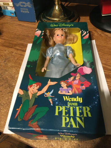 1989 DISNEY PETER PAN WENDY DARLING DOLL SEARS EXCLUSIVE FIGURE / REAL PICS