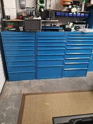 EMPTY POLSTORE  BOTT  LISTA  Style TOOLING CABINET 9 DRAWERS