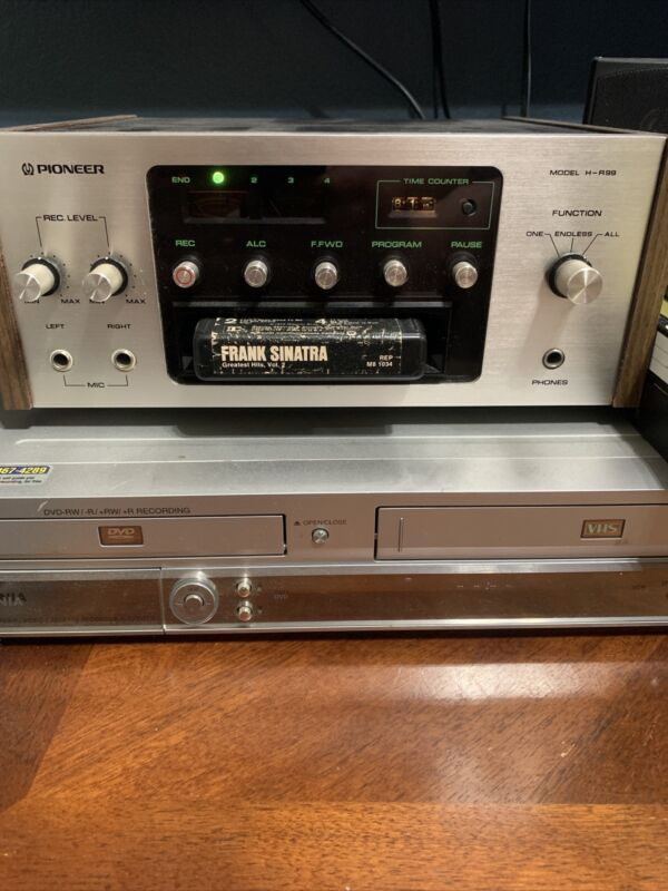 Pioneer H-R99 Vintage Stereo 8 Track Tape Deck. Japan. Great working condition