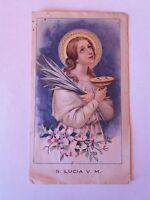 Holy Card Santi Santini Santa Lucia V.m -  - ebay.it