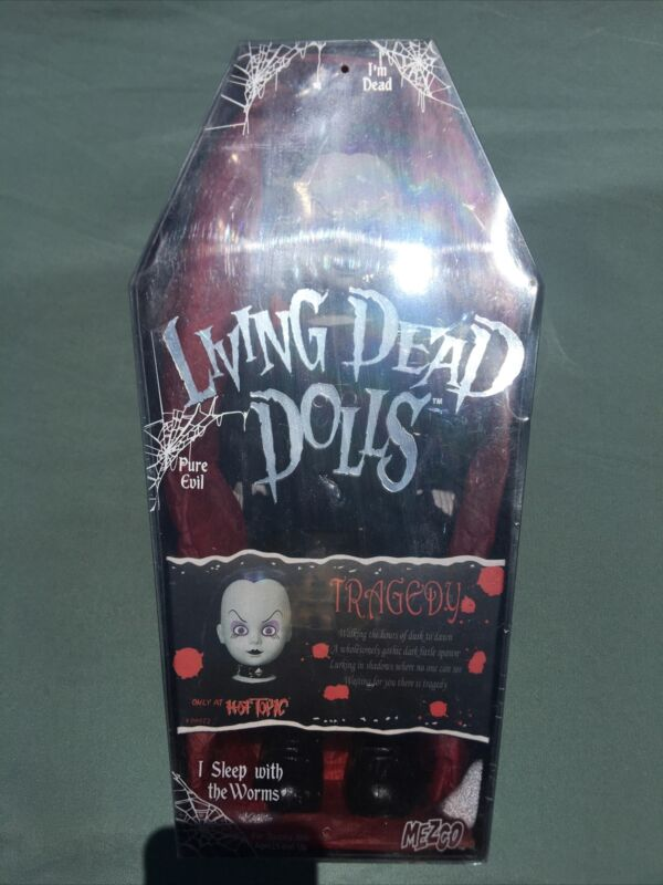 Living Dead Doll by Mezco Tragedy Hot Topic Exclusive, New Factory Sealed LDD