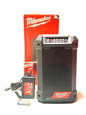 Milwaukee 2951-20 M12 Radio/Bluetooth Speaker w/Built-In Charger (Tool Only) New
