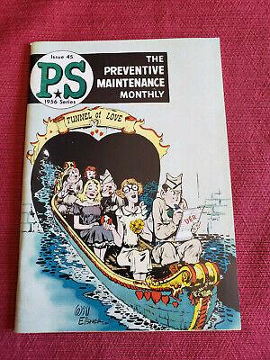 1956 Series PS Preventive Maintenance Monthly Magazine Issue 45 Will Eisner
