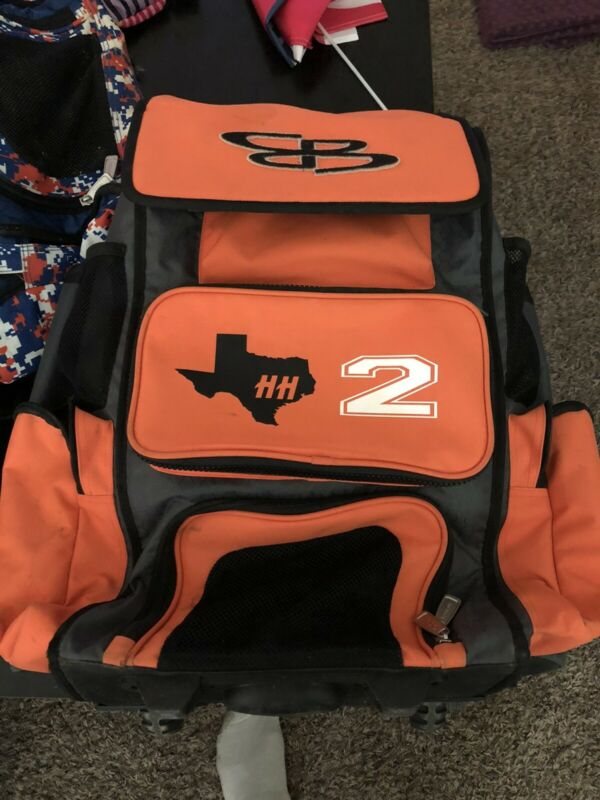 Boombah Charcoal / Orange Superpack Rolling Bat Pack 2.0
