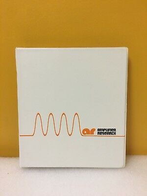 Amplifier Research 1012937-501 Dc2500a Dual Directional Coupler Manual