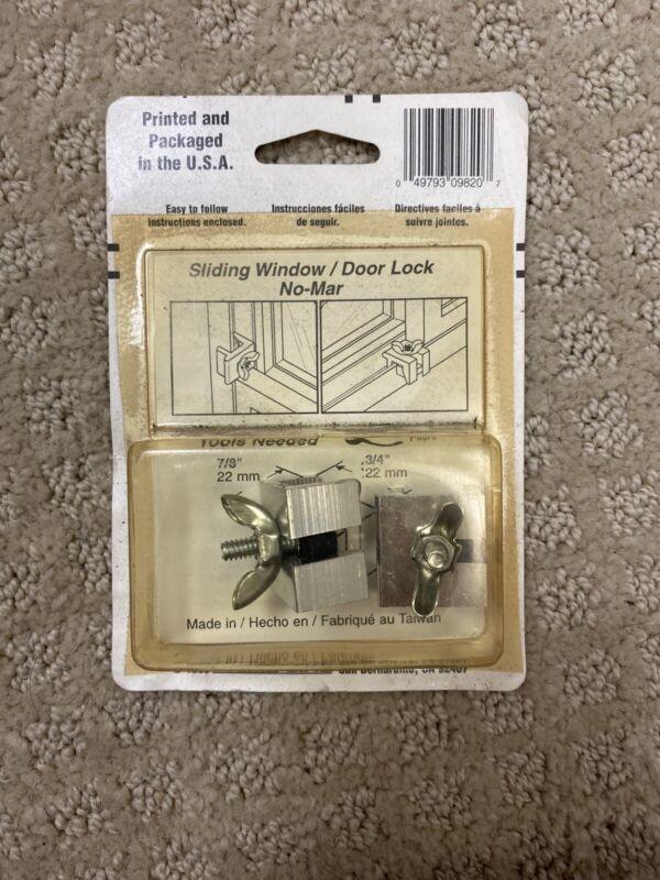 Prime Line U9820 7/8 Extruded Aluminum Sliding Window Lock 2 Count
