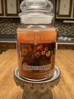 Yankee Candle Pumpkin Wreath Large 22oz Jar
