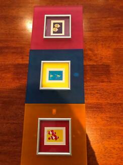 Coloured Kids Picture Frames
