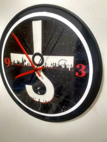 BLUE OYSTER CULT  - 12 INCH QUARTZ WALL CLOCK - OFFICE - FREE PRIORITY SHIPPING