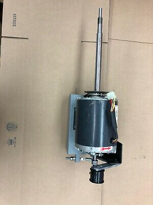 Adc Dryer Motor Model 330 100064 With Frame And Pulley Assembly American Dryer