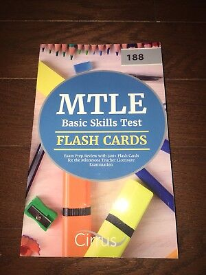 MTLE Basic Skills Test Flash Cards: Exam Prep Review with 300+ Flash Card