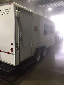 2010 Trailers Unlimited Basic Furnished Office Trailer