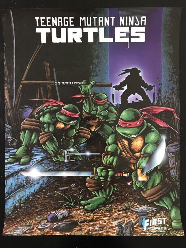 TMNT Teenage Mutant Ninja Turtles 1986 First Series Poster