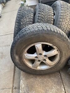Winter Tires and Steel Rims 250/70R16 106