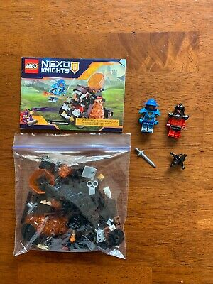 LEGO Nexo Knights 70311 Chaos Catapult Complete with Minifigures & Instructions