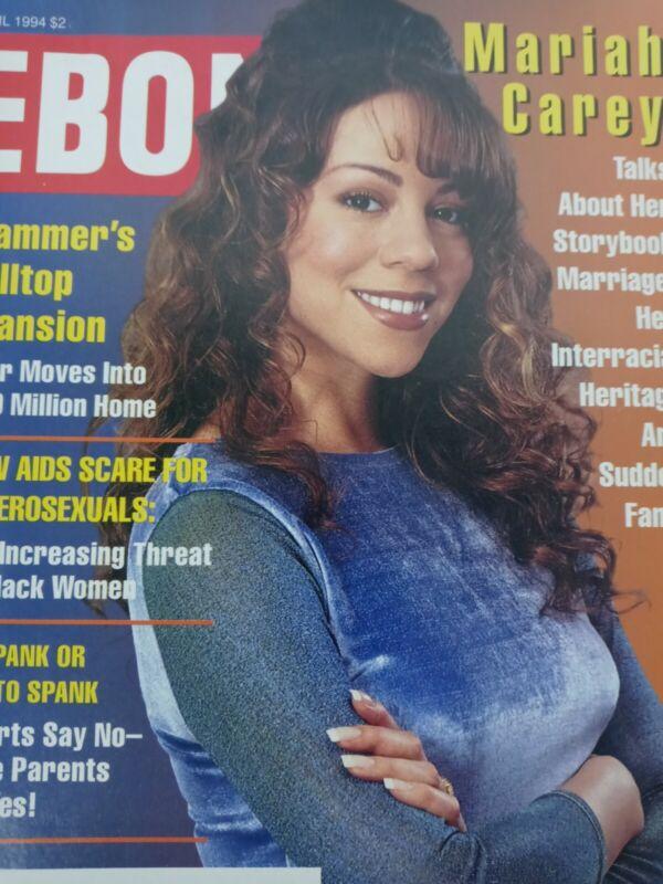 April 1994 Mariah Carey Ebony Magazine Black Issues History MC Hammer Mansion