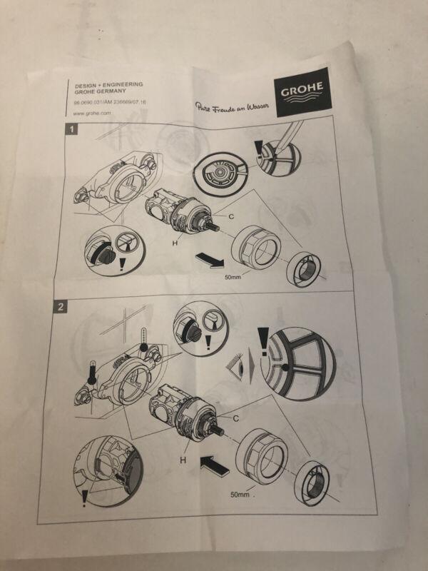 Grohe 47995000 Pressure Balance Cartridge