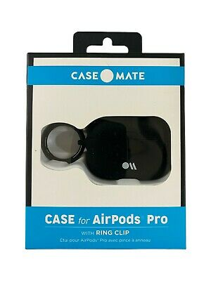 Case-Mate Case for Apple AirPods Pro With Ring Clip - Black AIRPODS PRO ONLY