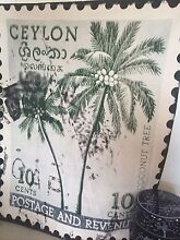 Ceylon Tropical Palm Postage Wall Canvas Kingsholme Gold Coast North Preview