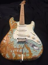 Fender Stratocaster squire relic'd Adelaide CBD Adelaide City Preview