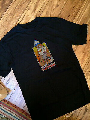 Willy santos Vintage 80s 90s bird house skateboard summer reprint New t-shirt