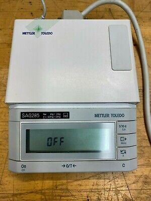 Mettler Toledo Sag285 Analytical Balance Display Control Unit - No Power Supply
