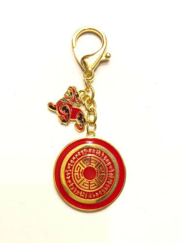 2021 Feng Shui Dakini Wealth Pi Yao Amulet Keychain