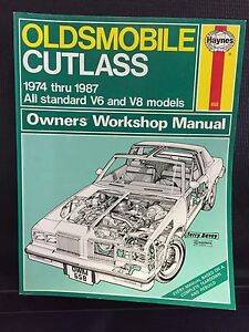 Haynes Manual 74-87 Oldsmobile Cutlass