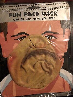 Fun Face Mask Halloween Party Half Face Mask Buck Teeth, Fancy Dress Fun! D3](D3 Halloween Party)