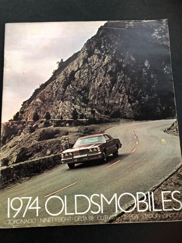 1974 Oldsmobile full line sales brochure