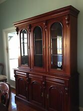 Exquisite, period cedar dining setting and dresser Kelvin Grove Brisbane North West Preview