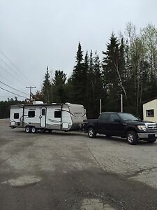 2014 Mint condition 28 foot Bunkhouse Trailer