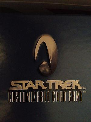 Star Trek CCG Headquarters HQ Set (13) FOIL MINT HTF
