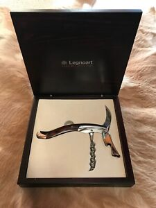 Legnoart Ghemme Grand Crue Stainless Steel Sommelier Corkscrew with We Blairgowrie Mornington Peninsula Preview