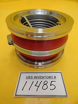Edwards B58120000 Vibration Isolator Bellows Ss Dn100 Iso100 Turbo Pump Used