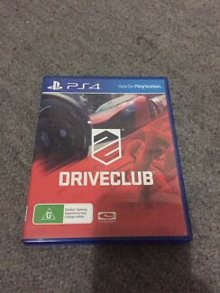 Drive club for PS4 Kogarah Rockdale Area Preview